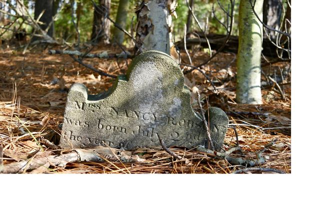 There are many historic cemeteries like this one around the Chesapeake Bay that will likely turn to marsh or disappear completely as sea levels climb higher.