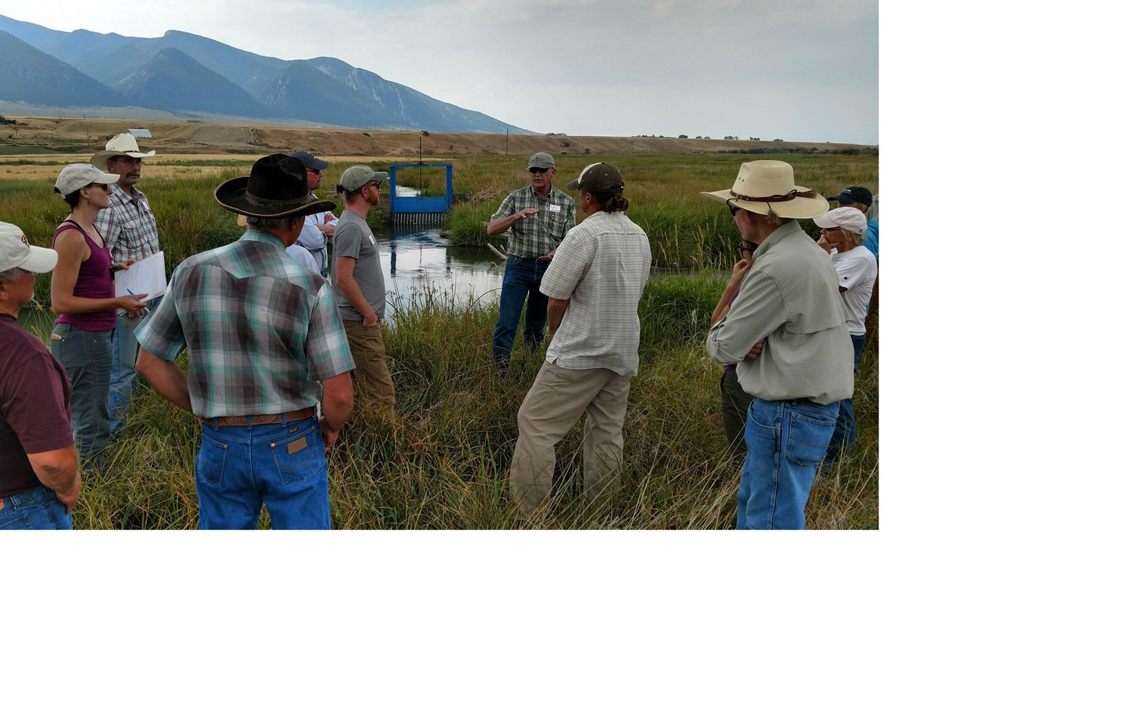 The support of the local ranching community is essential to restoration of the Ruby River, much of which crosses private property.