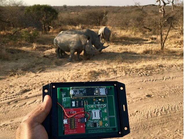 Anti-rhino poaching technology being tested in Oregon and Africa