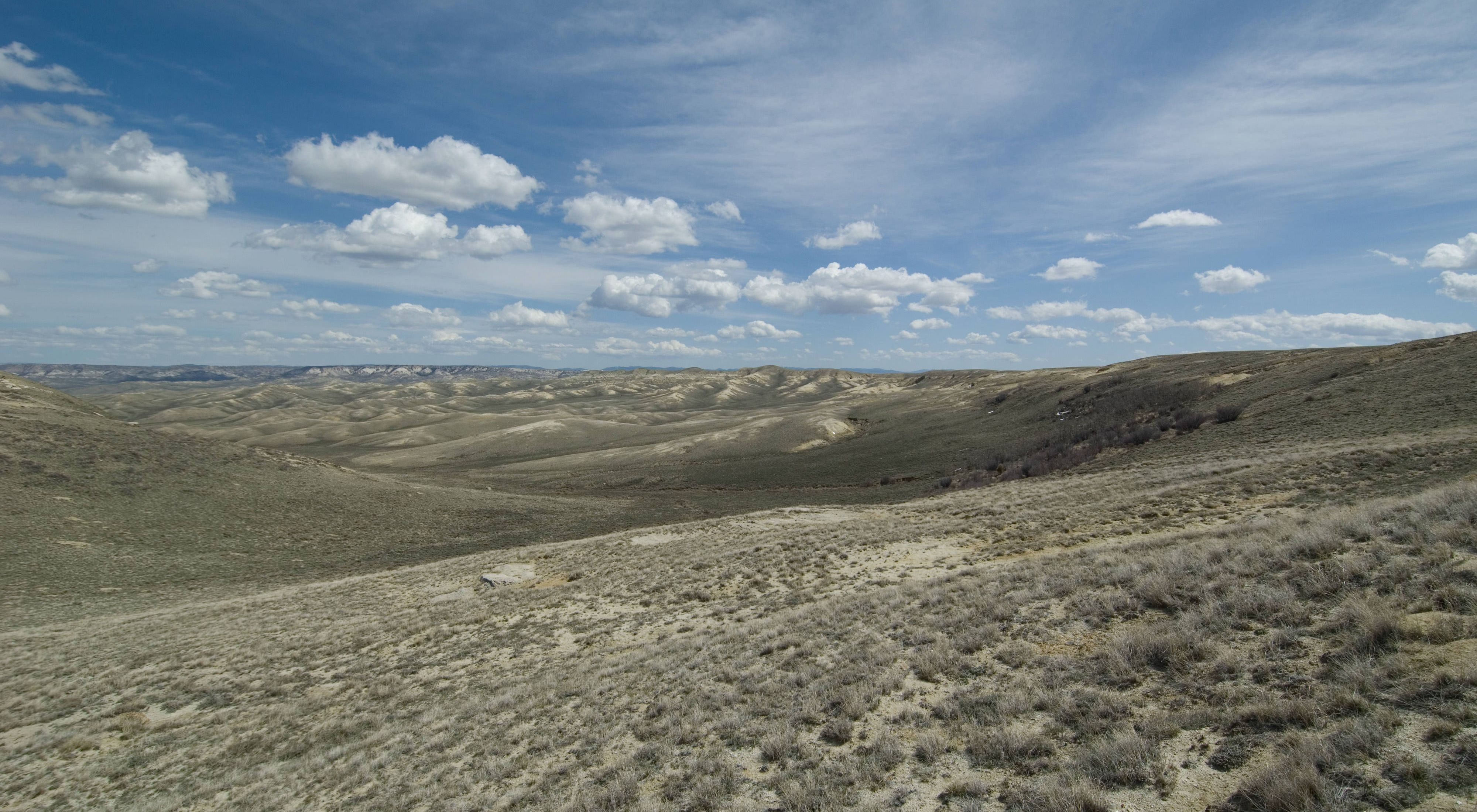 The Shirley Basin is a vast and ever changing landscape.