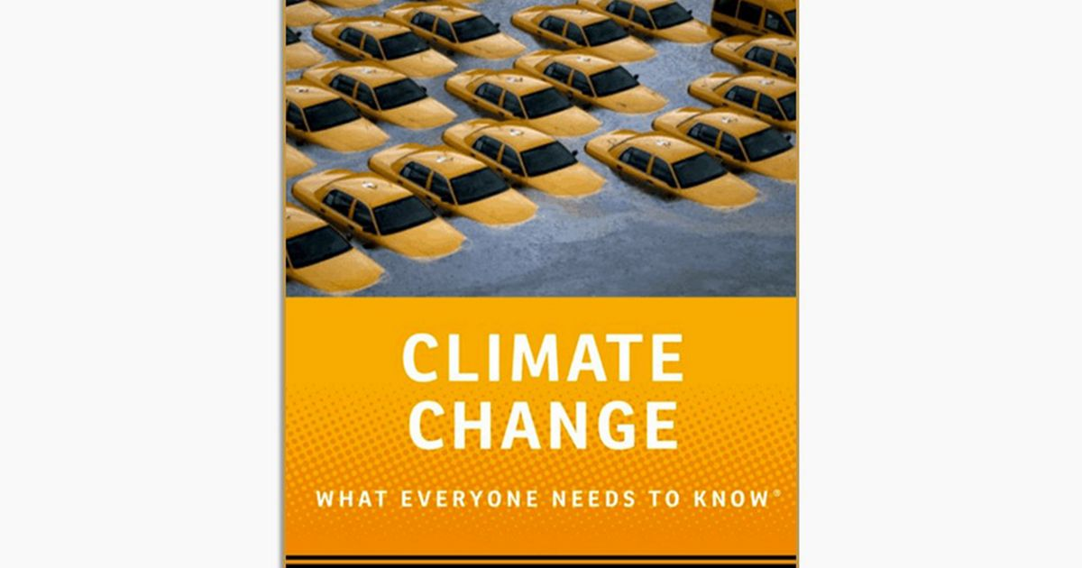 "cover image of Joe Romm's book, ""Climate Change: What Everyone Needs to Know."""