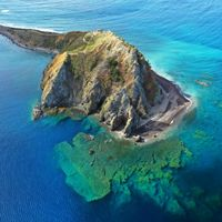 Scientists used aerial technologies to collect data on vital underwater habitats at Soufriere-Scott's Head Marine Reserve.
