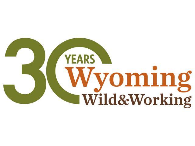 Wyoming 30 Years Wild and Working Logo