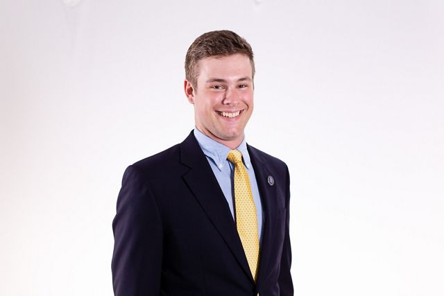 Headshot of new TNC student trustee, Thomas Franklin