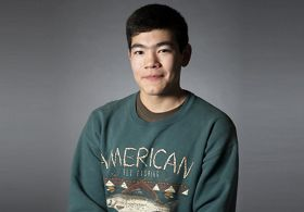 Triston Chaney of Dillingham, AK; permit holder and marine biology student at the University of Alaska, Juneau