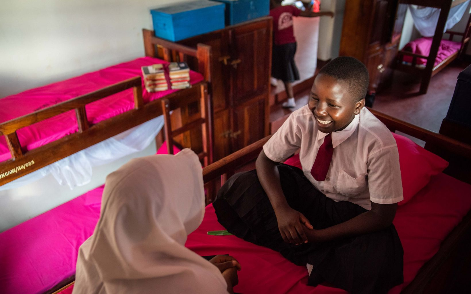 The new dorm at Lagosa Secondary School is providing girls with a safe place to stay and study.