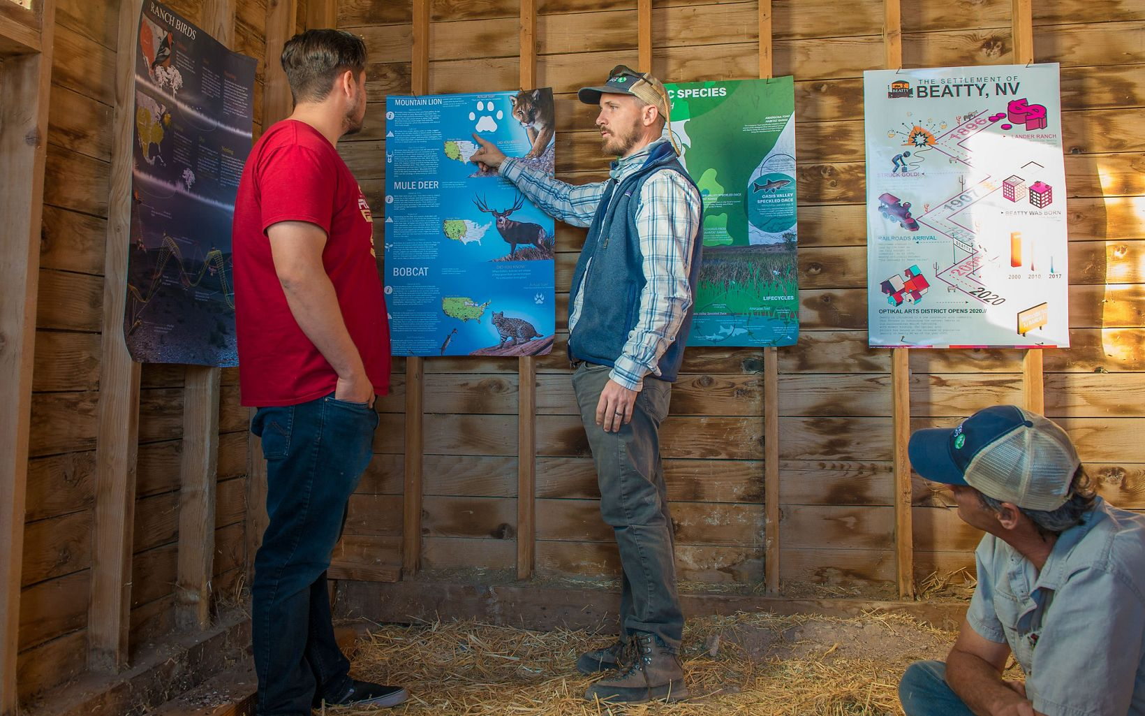 UNLV Landscape Architecture students share their fall studio presentations at 7J Ranch