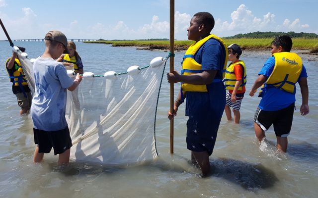 The Virginia Coast Reserve offers hands-on science education to Eastern Shore students in grades 5, 7 and 10.