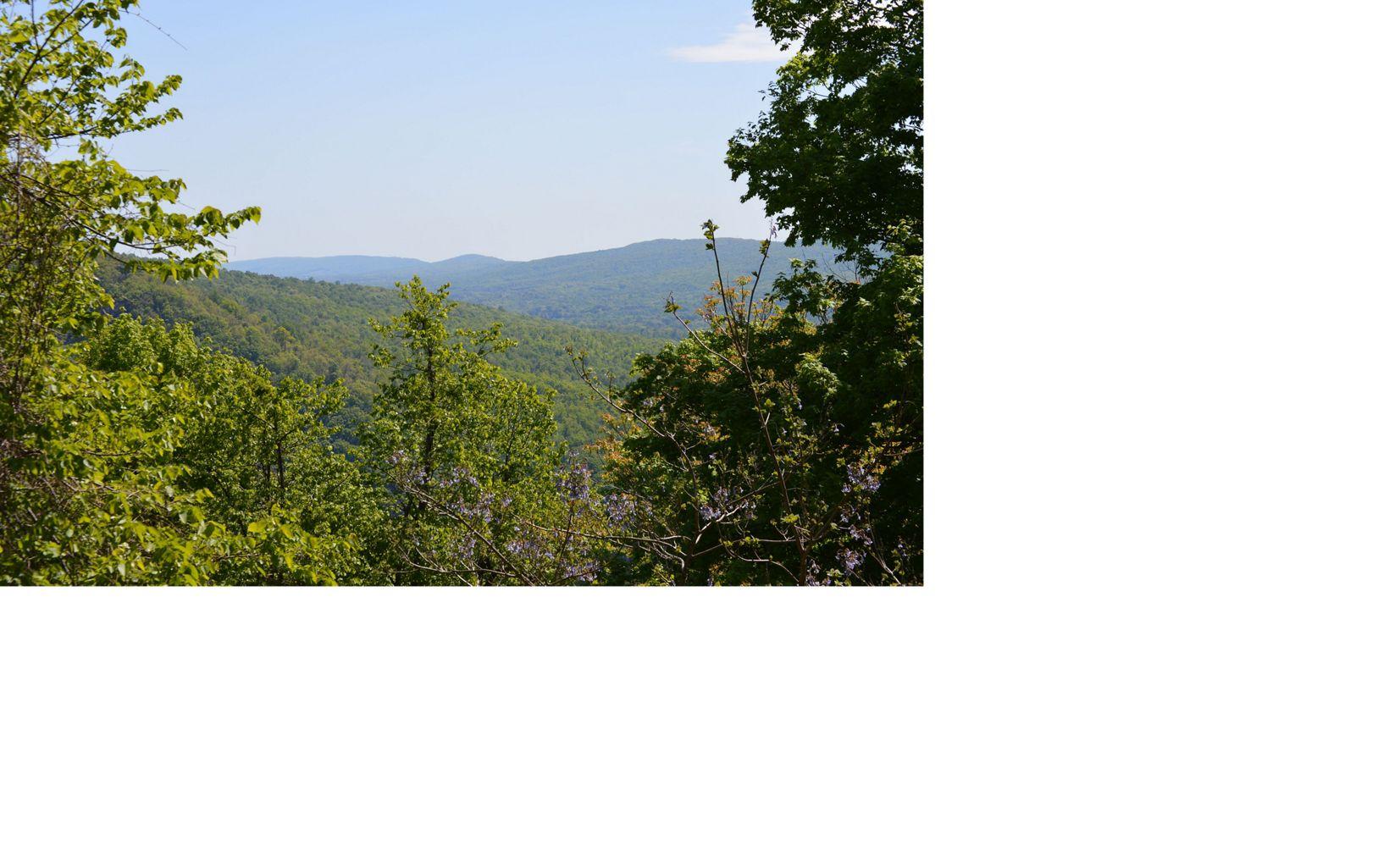 View of the Kittatinny Ridge from the Cove Mountain, Pennsylvania.