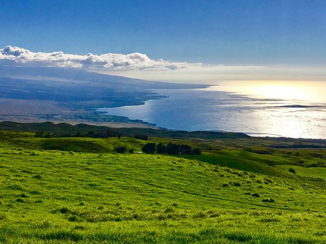 A view of the South Kohala coastline, Hawai'i