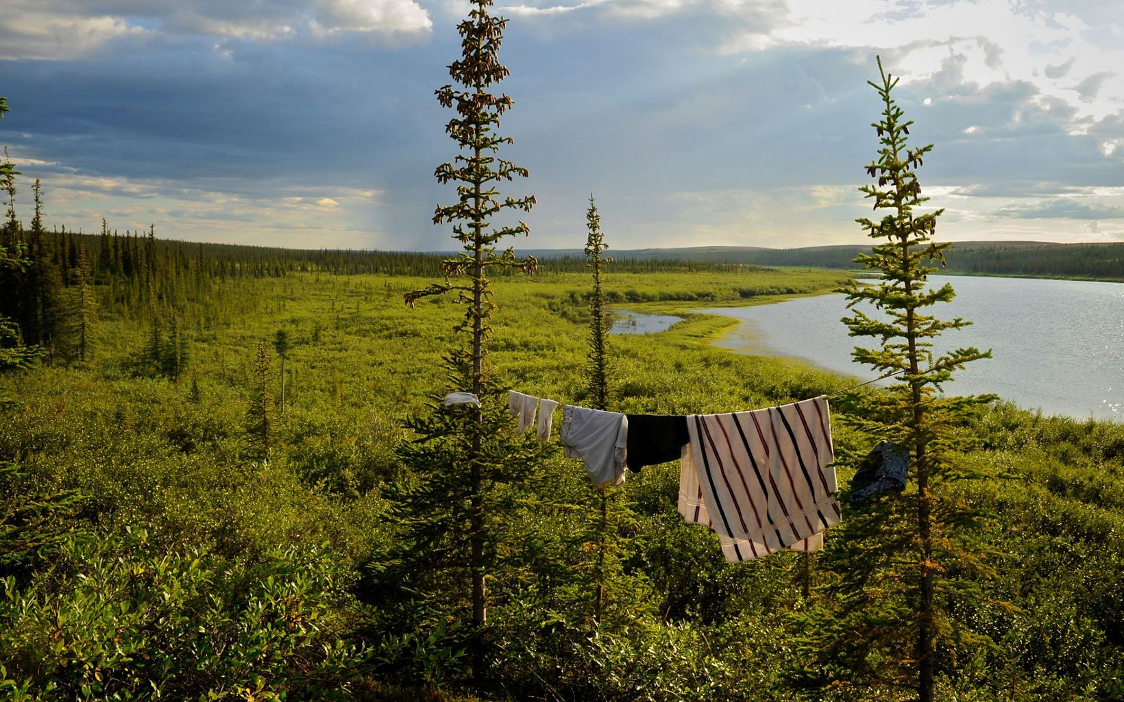 Thelon Game Sanctuary in northern Canada