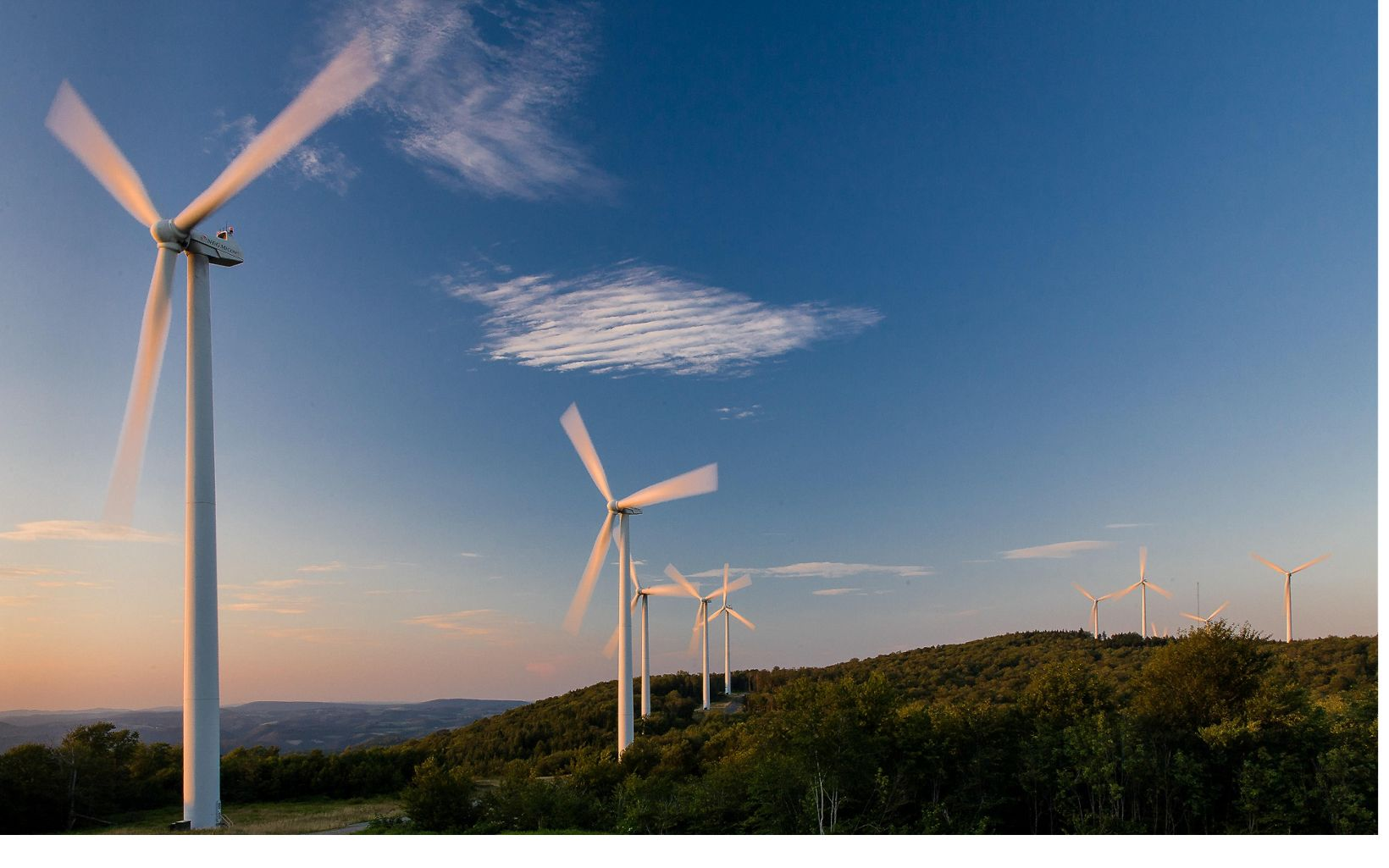 Wind Farm Turbines in West Virginia