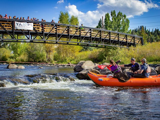 Scenes from the official launch of the Yampa River Fund on September 19, 2019.