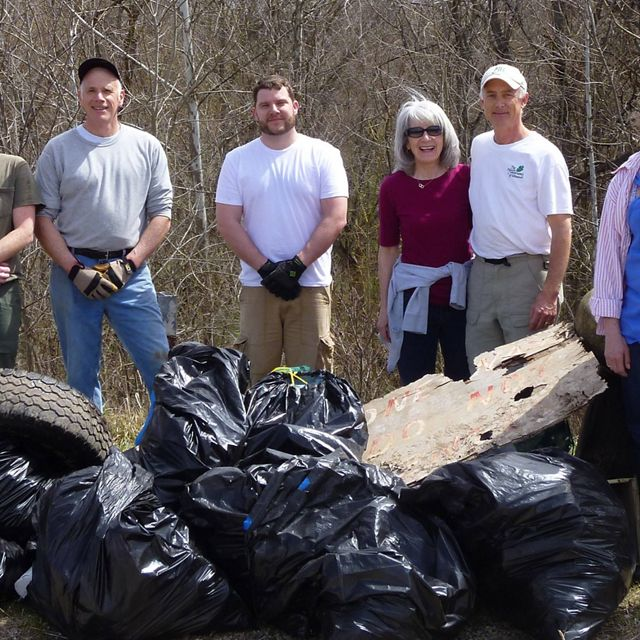 Cleanup Day at Zahorsky Woods Preserve