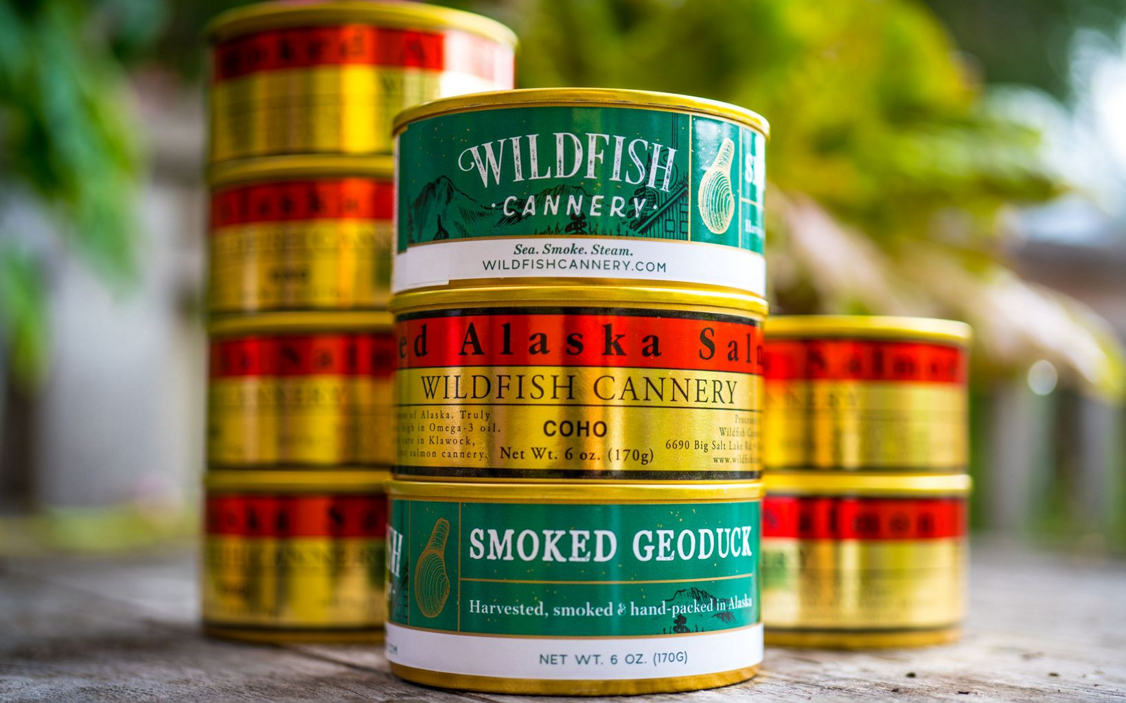 from Wildfish Cannery in Klawock, Alaska.