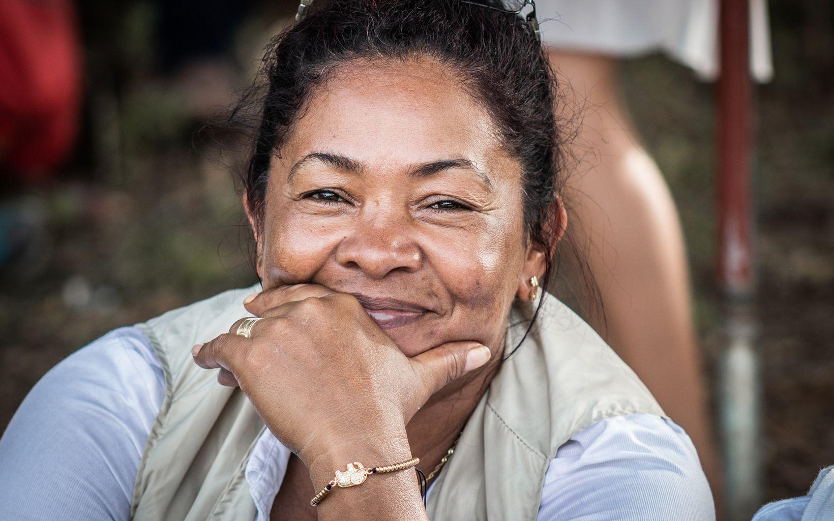 Líder de la comunidad de la ciénaga de El Sapo, Antioquia