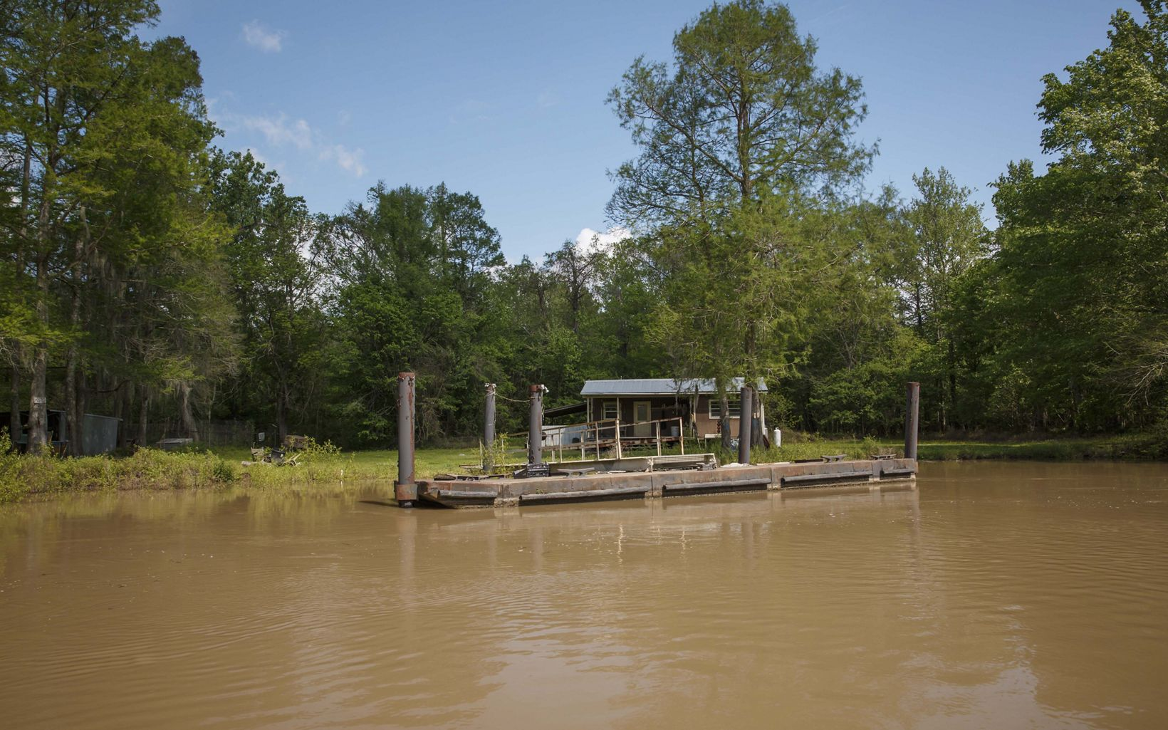 Dock in the Atchafalaya