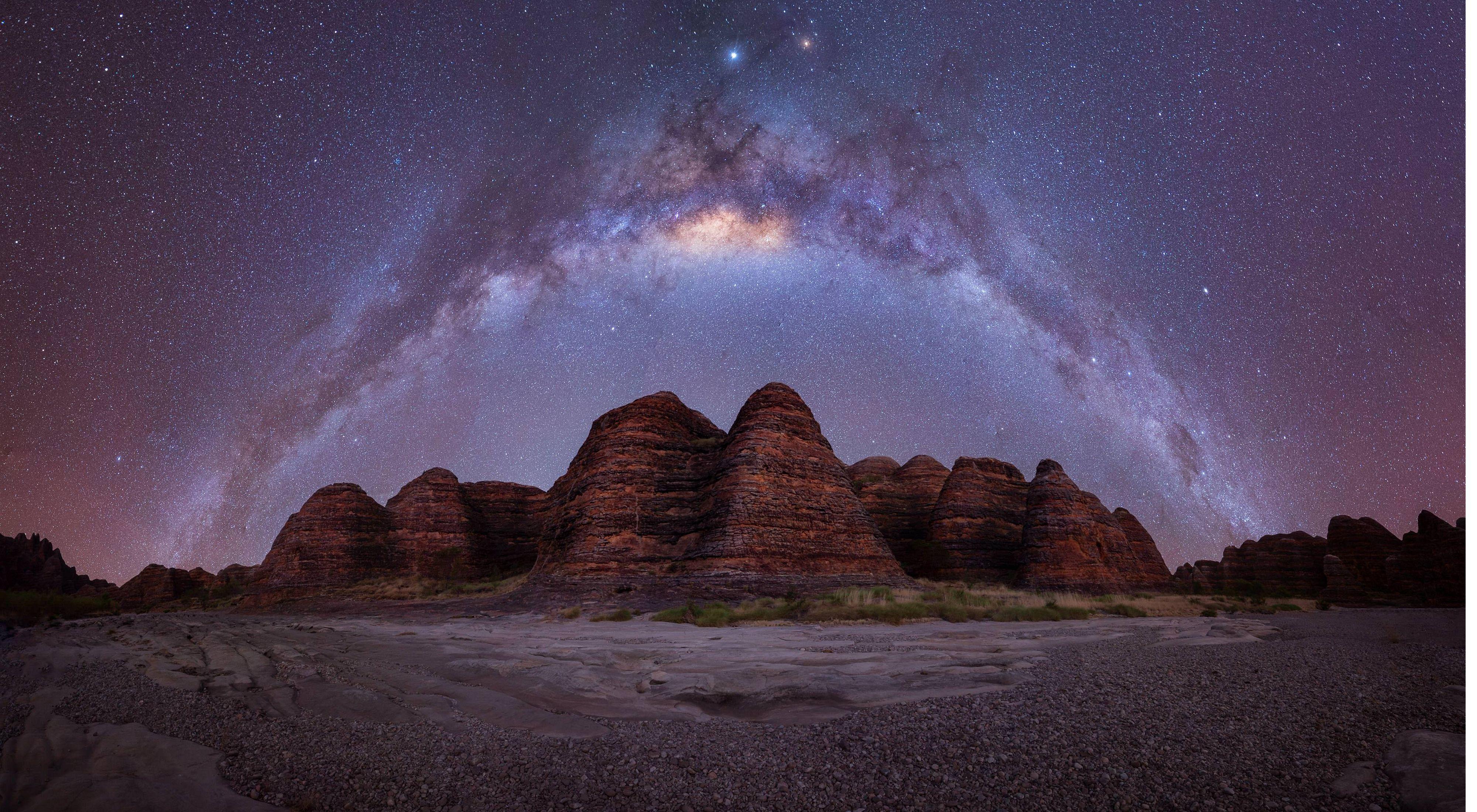 Only silence and the stars at The Bungle Bungle Range, Purnululu National Park, WA