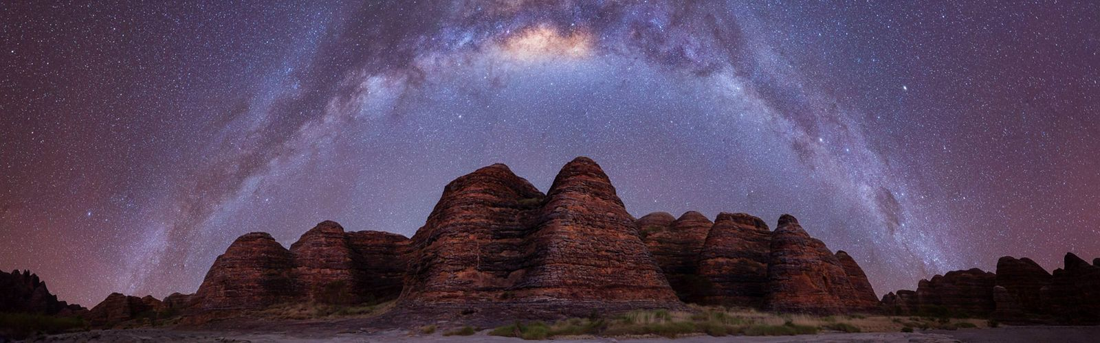Only silence and the stars at The Bungle Bungle Range, Purnululu National Park, WA