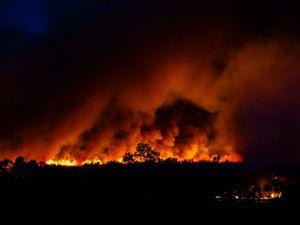 Bushfire rages in Australia