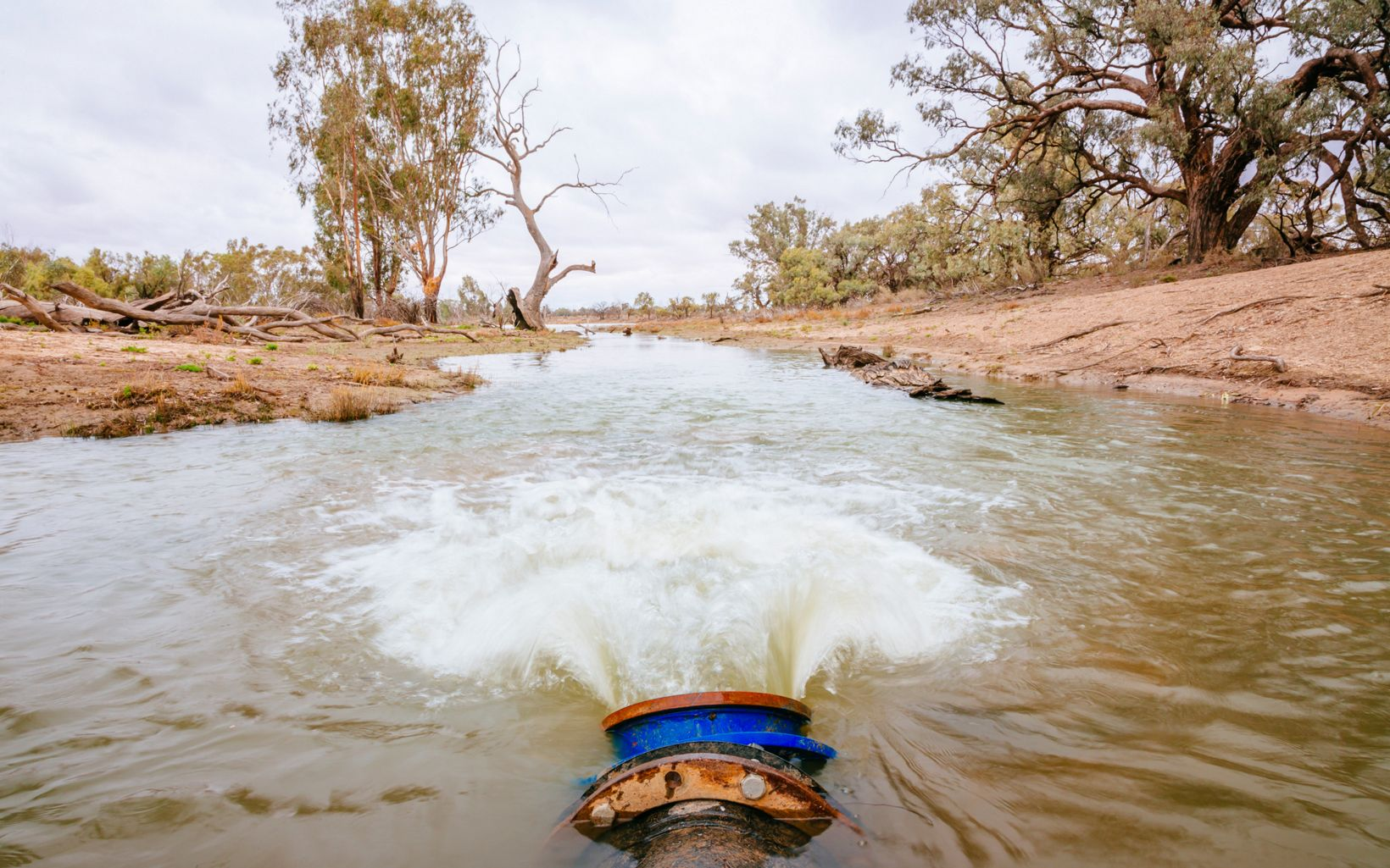 as part of the Murray-Darling Basin Balanced Water Fund.