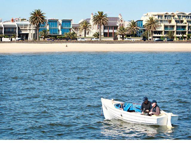 in Port Phillip Bay, Victoria