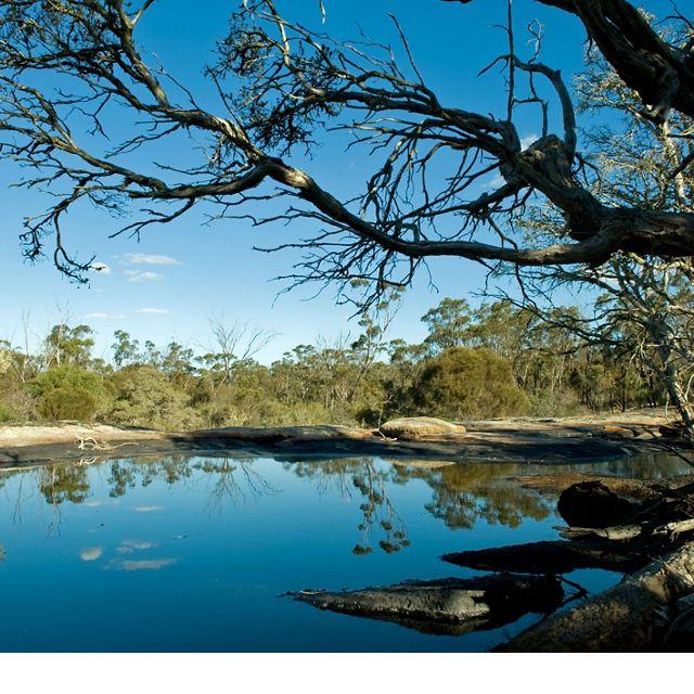 Lake in Gondwana Link, Western Australia