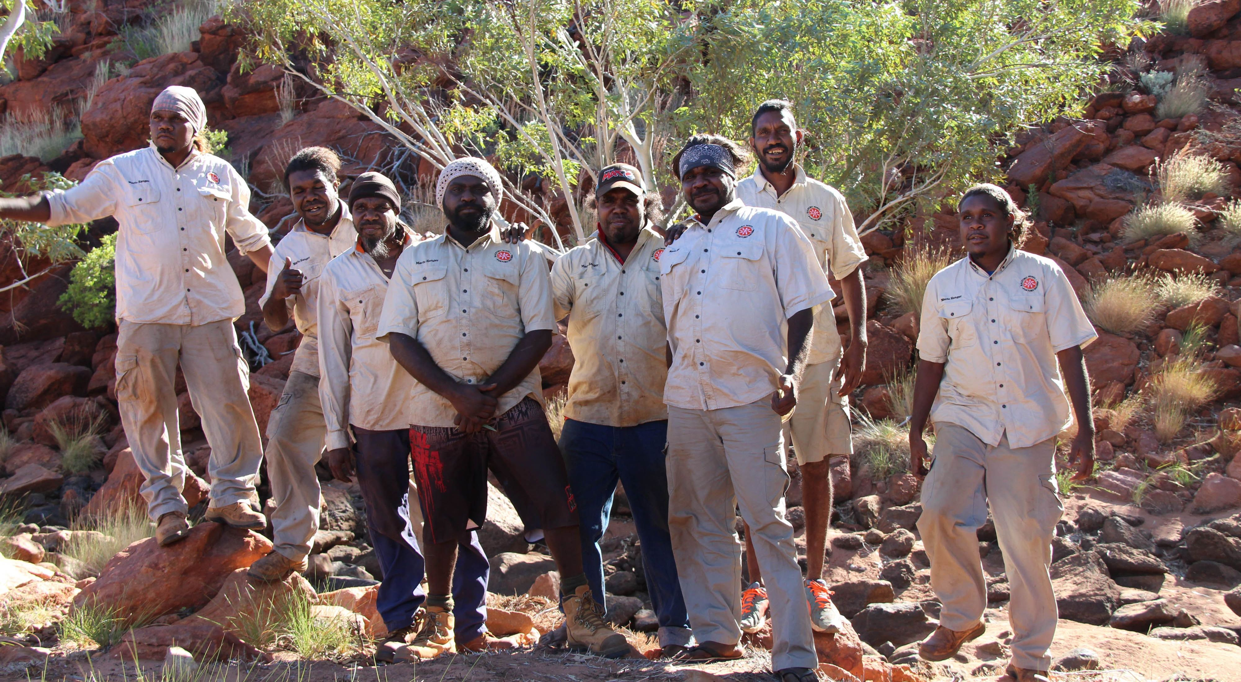 KJ Rangers work in Martu Country, the Australian outback to help keep Country healthy for people and nature
