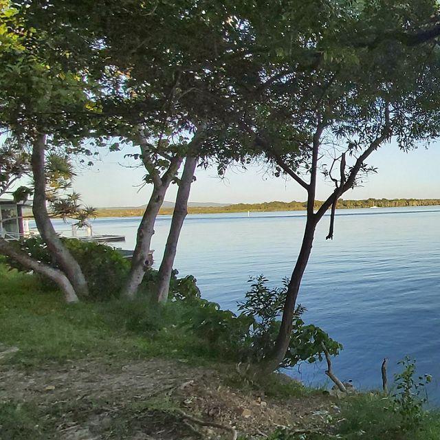 Lower Noosa river estuary