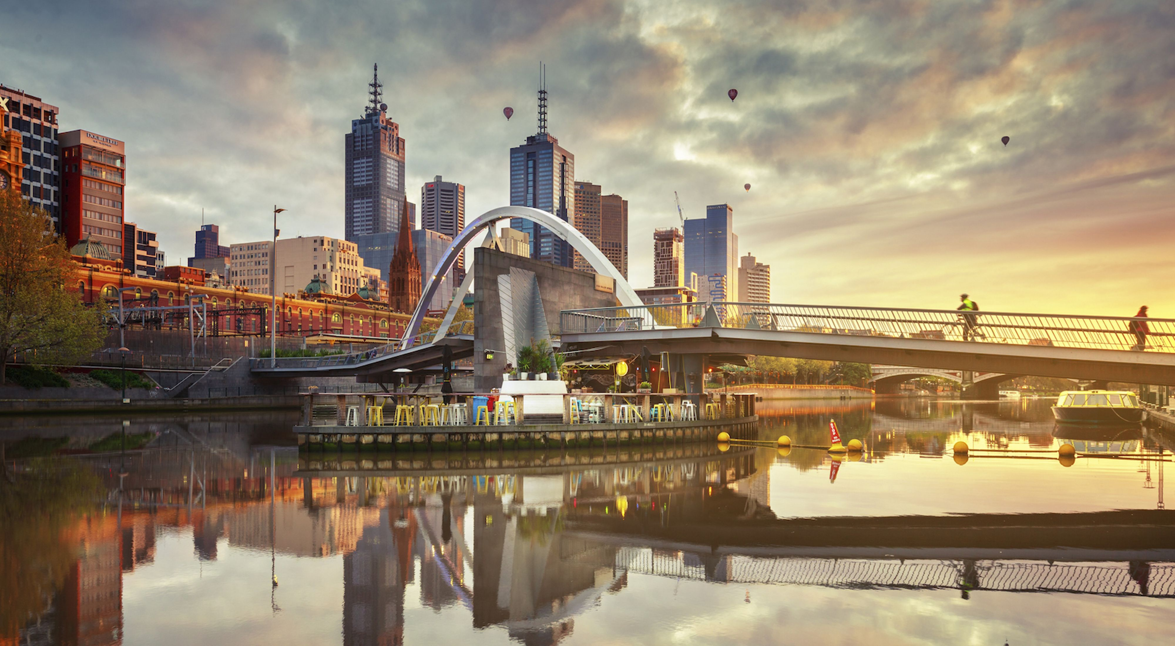 Melbourne is part of the 100 Resilient Cities initiative pioneered by the Rockefeller Foundation
