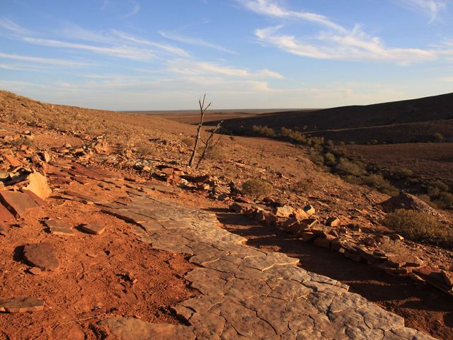 Nilpena in the rocky outback of South Australia.