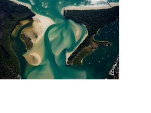 Noosa River mouth © Marcos Barboza