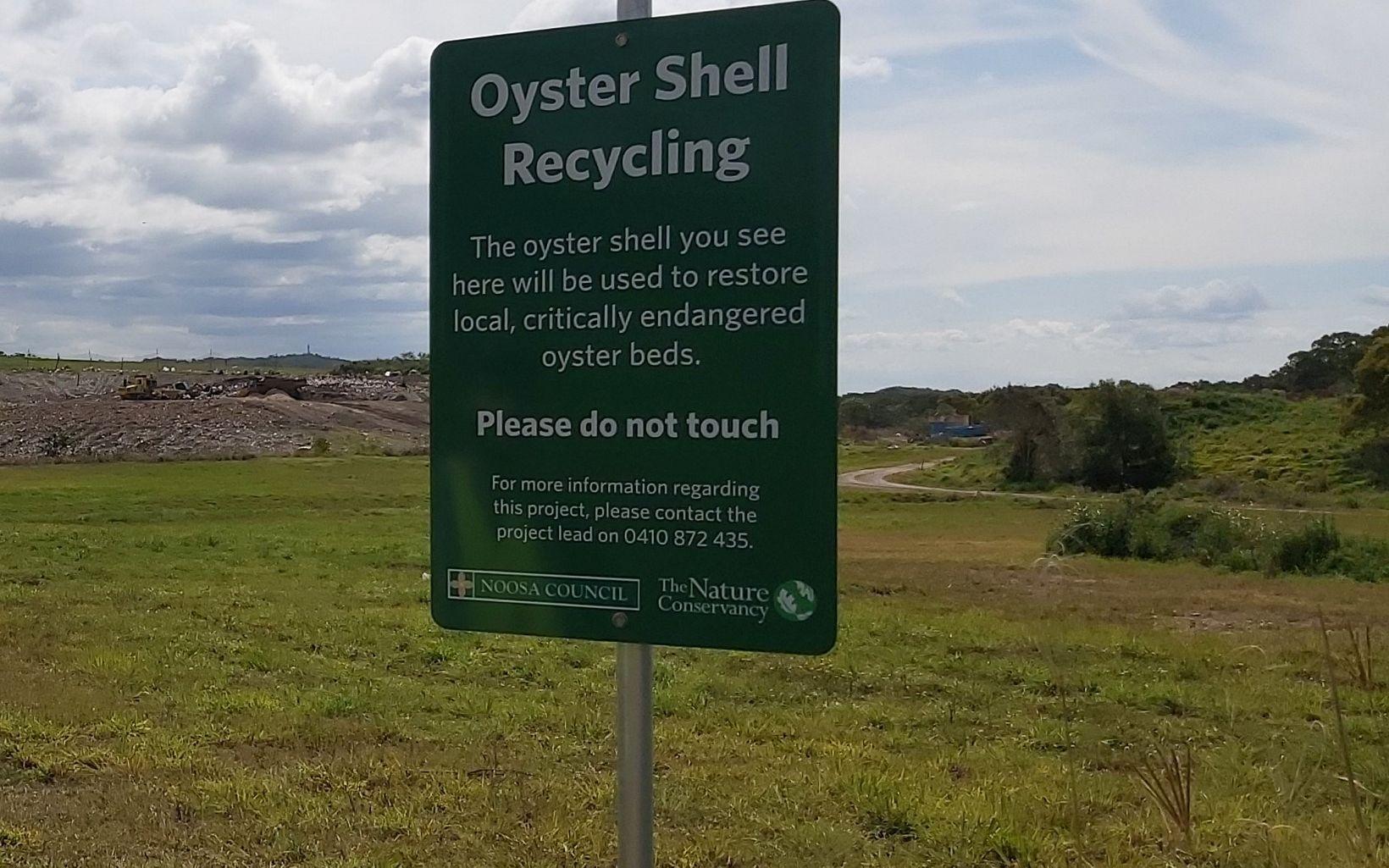 Noosa shell recycling
