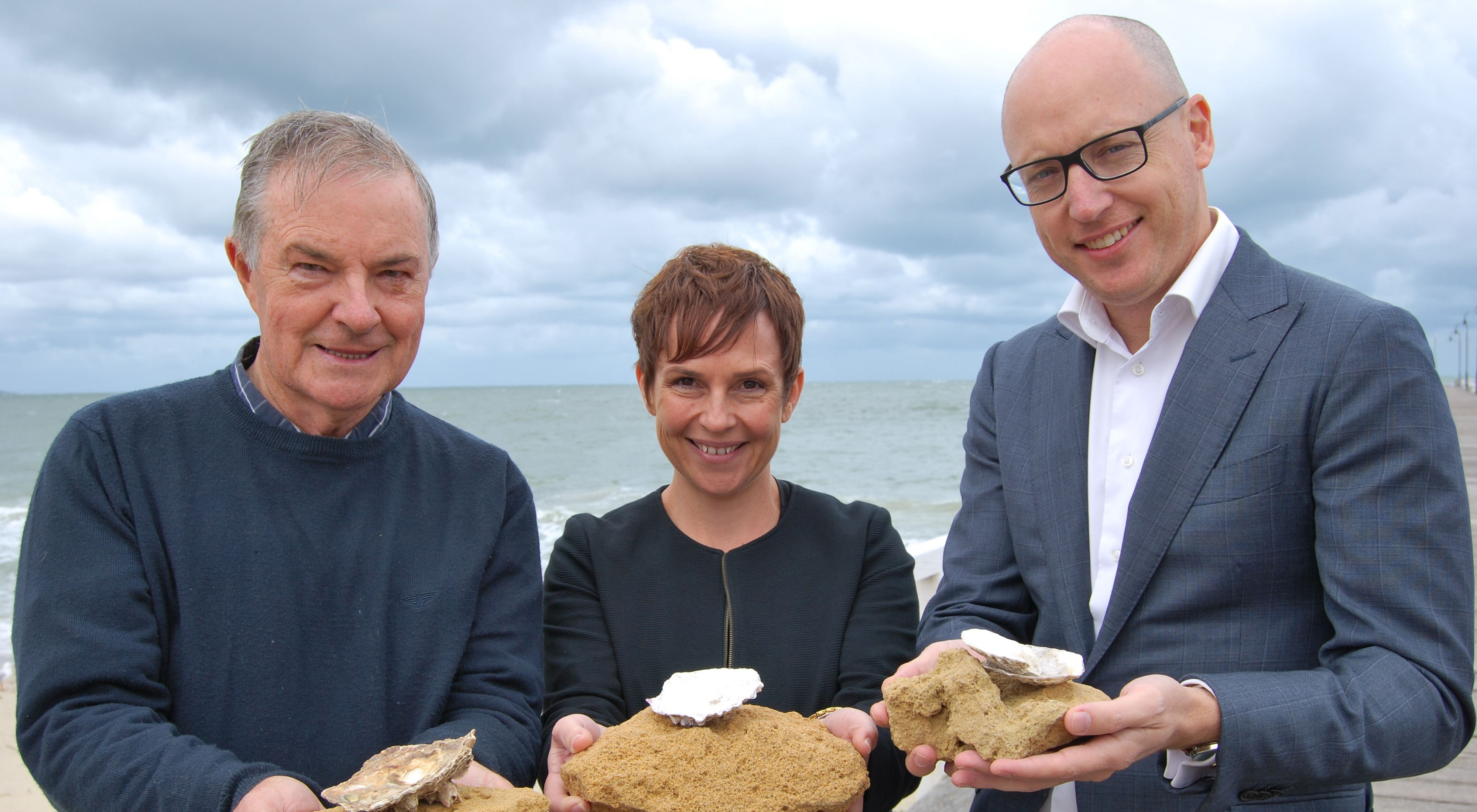 Pat Hutchison, Minister Jaala Pulford & Rich Gilmore (l to r)