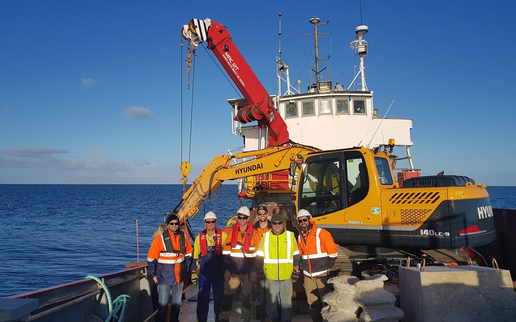 Oyster reef restoration in Australia