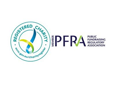is a fully accredited member of the Australian Charities and Not-for-Profits Commission, and the Public Fundraising Regulatory Association for added peace of mind.