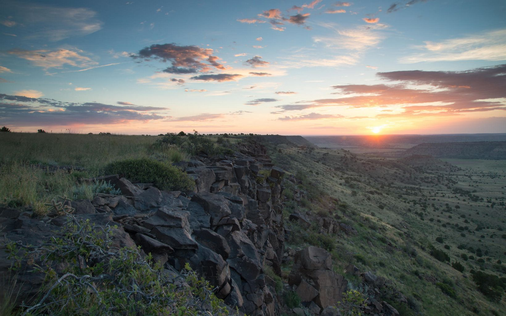Black Mesa State Park & Nature Preserve are home to the darkest skies around.