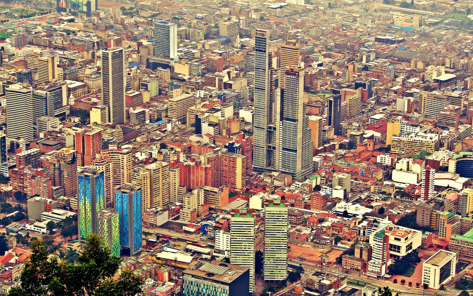 Bogota is the capital (city) of Colombia. As of 2009, more than 7 million people live in Bogota, which makes it the largest city in Colombia