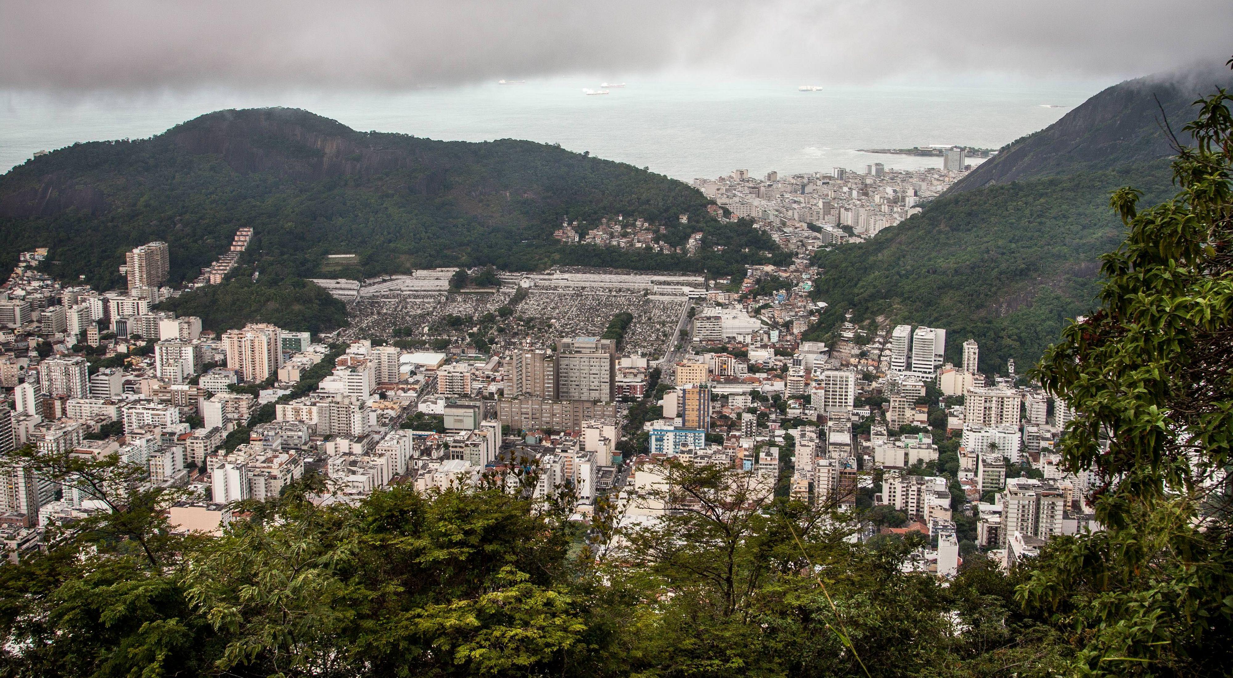 Landscape of Rio de Janeiro, Brazil.