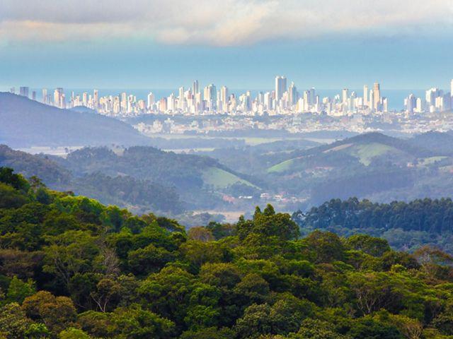 Vista de Balneário Camboriú