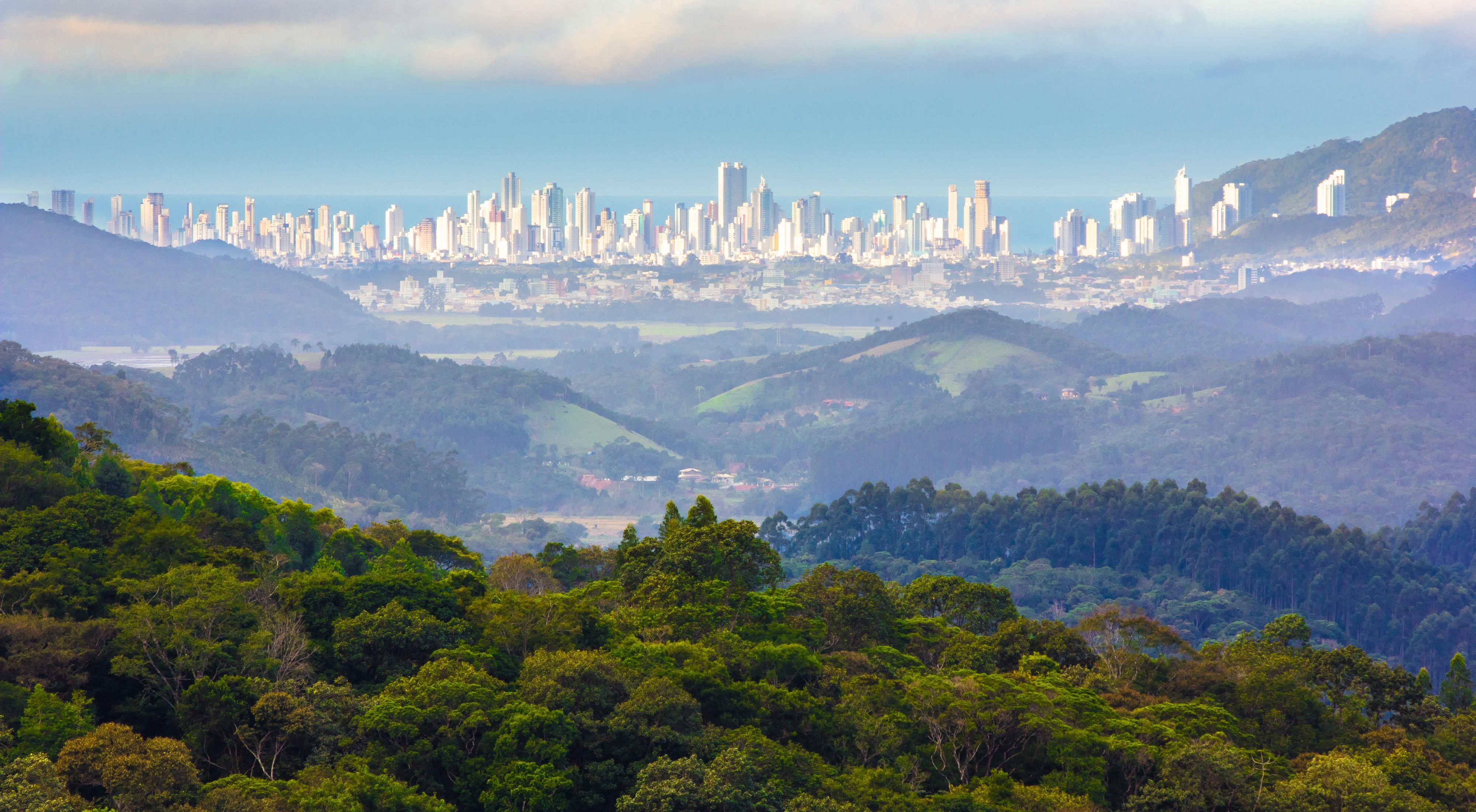 vista de Camboriú