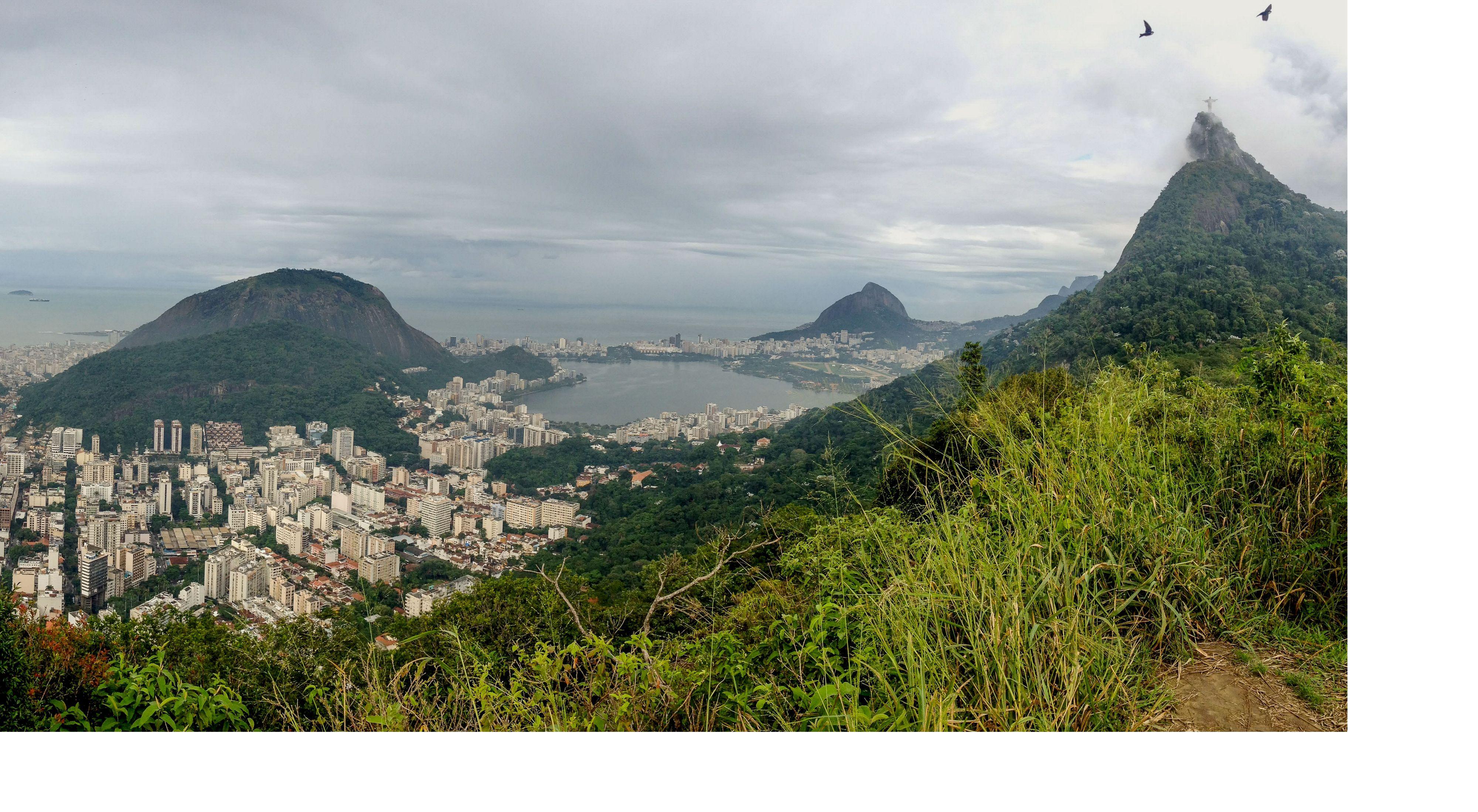 Cidade do Rio de Janeiro no Brasil.