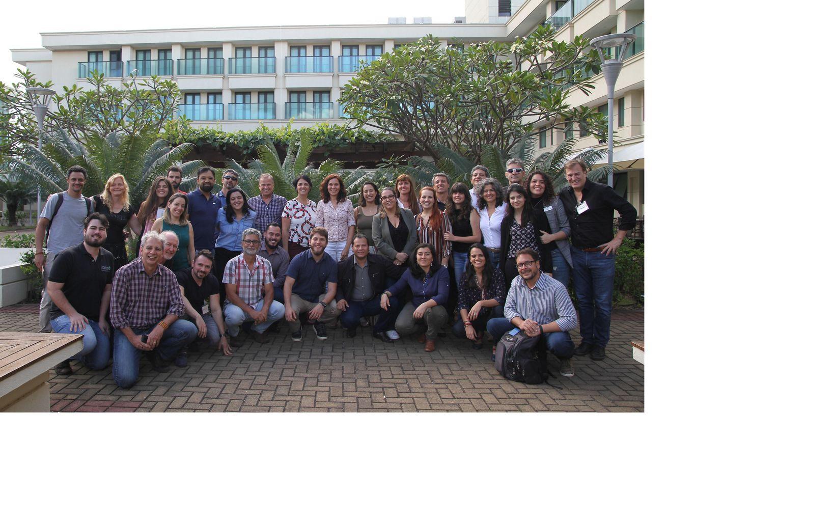 Parte da equipe da TNC Brasil