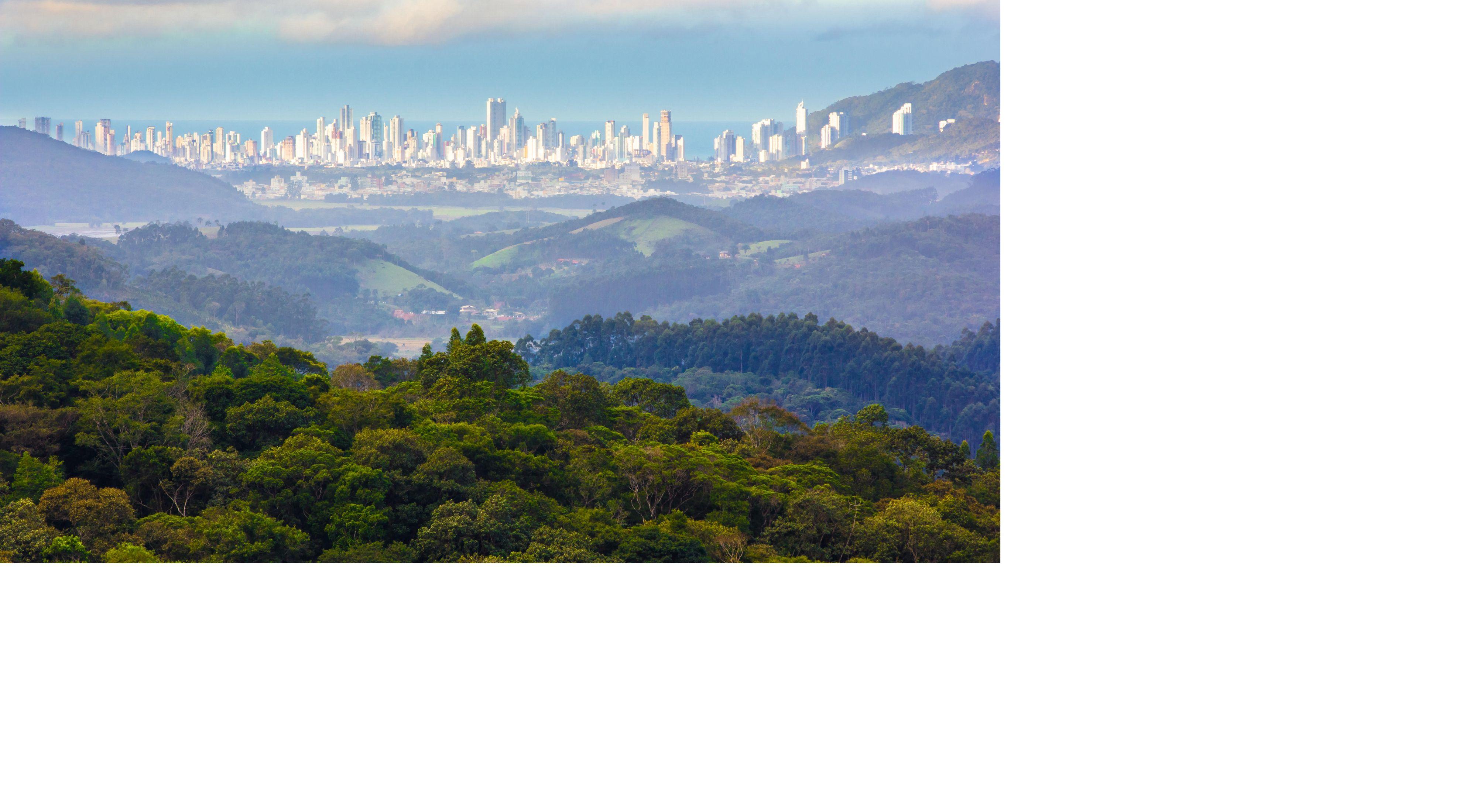 Vista de Balneario Camboriu SC Brasil