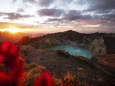 Ilha de Flores, Indonésia.