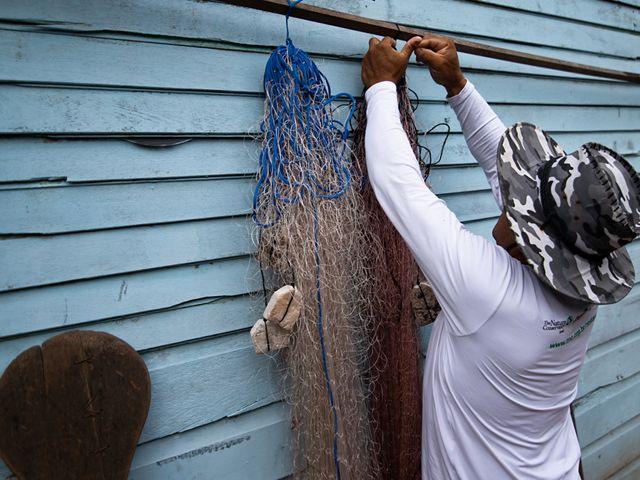 Ednaldo Rocha, do MOPEBAM, é um dos parceiros do trabalho da TNC para conservação na Bacia do Tapajós.
