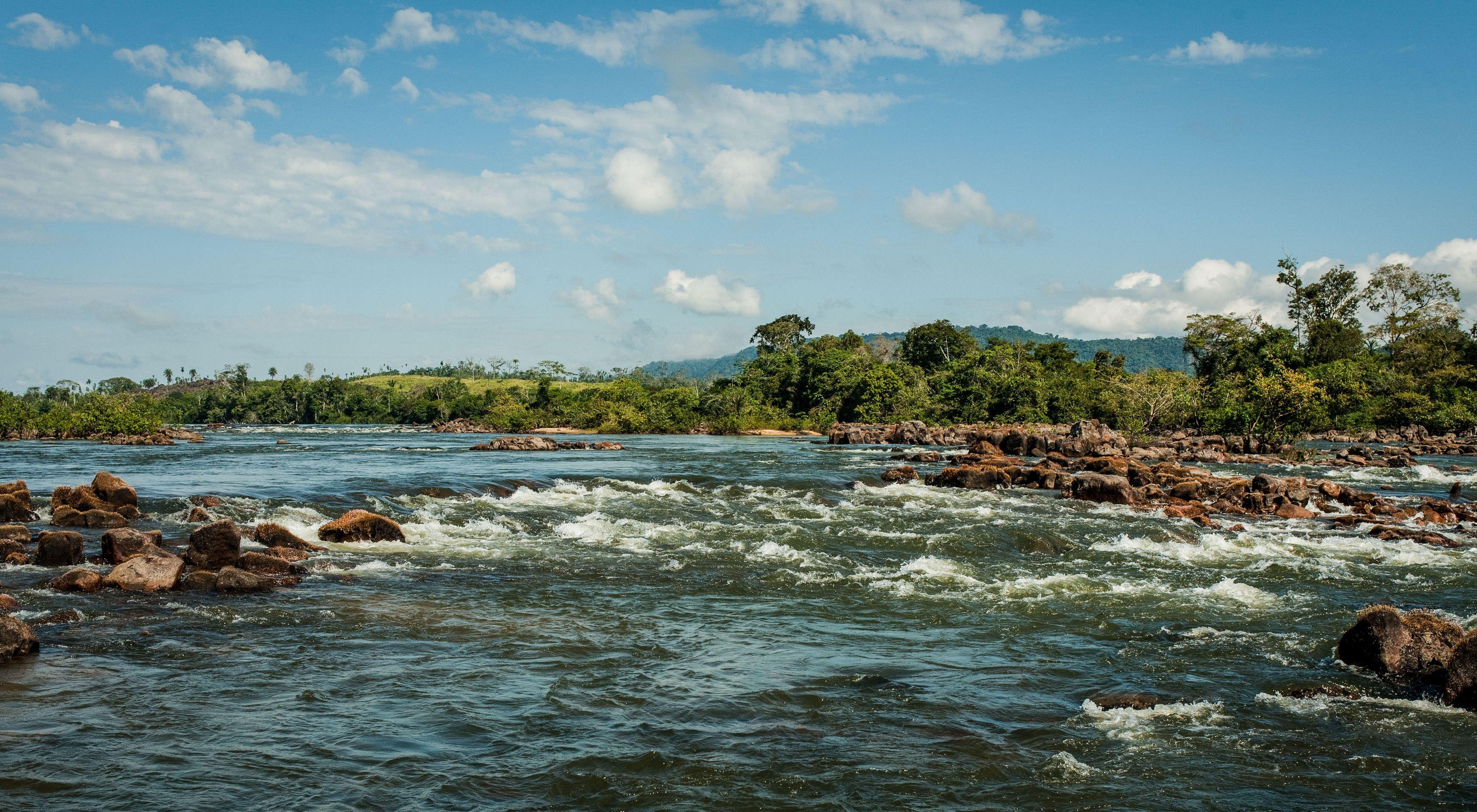 Xingu' river, Brasil