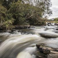 Cachoeira do Salto Grande, no Rio Jaguari, em Extrema-MG.