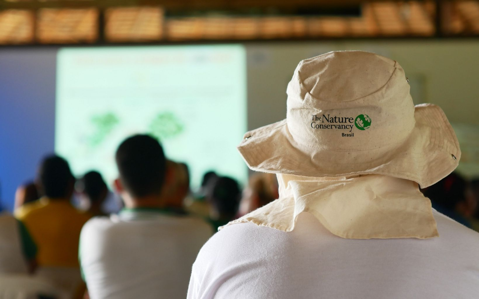 Parte do curso aconteceu contou com apresentações teóricas no Centro Experimental Floresta Ativa.