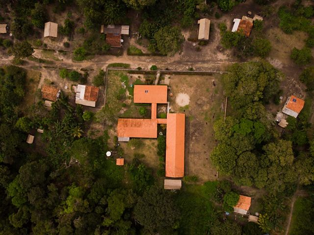 Situated on the banks of the Tapajós River, the Solimões Community is one of the Partners of the Águas do Tapajós project. © Daniel Gutierrez